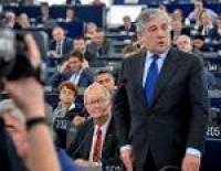 Par jauno Eiropas Parlamenta prezidentu ievēlē Antonio Tajāni
