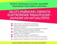 VID seminārs par elektroniskajiem pakalpojumiem