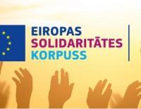 """Aicina iesniegt projektu pieteikumus jaunajā ES programmā """"Eiropas Solidaritātes korpuss"""""""