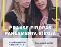 Tavs nākamais solis = #prakse Eiropas Parlamenta birojā?