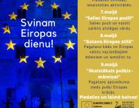 Svinam Eiropas dienu - mājās, ģimenē, pilsētā un laukos!