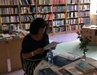 Druvienā un Lizumā aizvadītas tikšanās ar rakstnieci Maiju Krekli