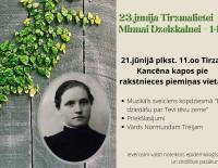 Rakstniecei Tirzmalietei 145!