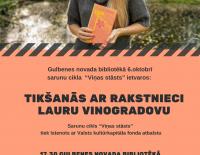 Tikšanās ar Lauru Vinogradovu