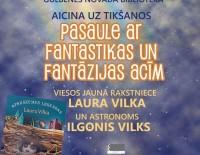 Tikšanās ar rakstnieci Lauru Vilku un astronomu Ilgoni Vilku
