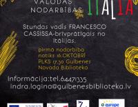 Bezmaksas itāļu valodas nodarības!
