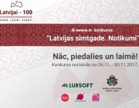"""Jauns erudīcijas konkurss Latvijas bibliotēkās  """"Latvijai – 100. Domā.Izzini.Stāsti!"""""""