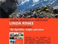 Lindas Riņķes trešās grāmatas prezentācija