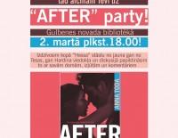 """""""After"""" party grāmatas cienītājiem!"""