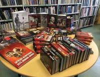 Bibliotēka saņem dāvinājumu