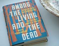 """Grāmata """"Among the Living and the Dead"""" Novadpētniecības lasītavā"""