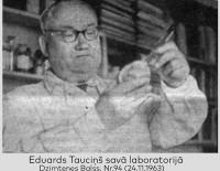Bioķīmiķim Eduardam Tauciņam - 110