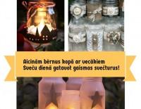 Nāc un veido gaismas svečturus kopā ar Elisi no Francijas!