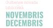 Pasākumi novembrī/decembrī