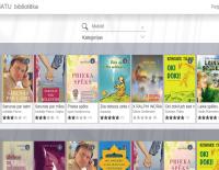E-grāmatas tiešsaistē mobilajā ierīcē vai datorā