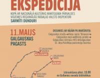 Izzinoša ekspedīcija Galgauskas pagastā