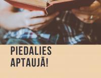 Aptauja par iedzīvotāju lasīšanas paradumiem