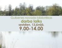 Šonedēļ strādājam arī sestdien, 13.jūnijā