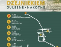 Ceļojums ar dzejniekiem Gulbenē
