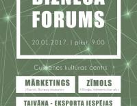 """Pirmais """"Biznesa forums"""" Gulbenē!"""