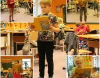 Pasākums ''Izkrāso Latviju'' - literāra nodarbība Tirzas pamatskolas 1.klasē