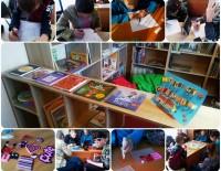 Pavasara brīvdienas bērniem Daukstu pagasta bibliotēkā!
