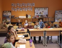 """Noslēdzošais KKF projekts """"Laiks satikties"""" pasākums Tirzas pamatskolā"""