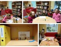 Radošā nodarbība Kalnienas bibliotēkā