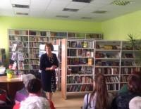 Tirzas pagasta bibliotēkas lasītāju tikšanās ar Akvelīnu Līvmani
