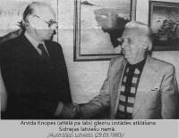 Arvīdam Knopem – 110