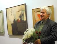 Gleznotājam Pēterim Postažam - 80