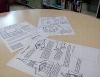 Turpinās darbs pie izzinošas krāsojamās grāmatas bērniem.