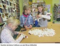 Gulbenes novada bibliotēka rada un rosina
